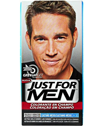 JUST FOR MEN CASTANO 30 +...