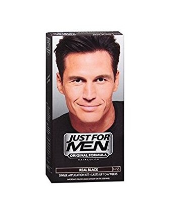 JUST FOR MEN NERO 30 + 30 ML