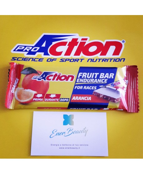 PROACTION BARRETTA FRUIT BAR 40 GR ARANCIA