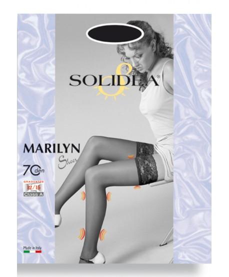 SOLIDEA AUTOREGGENTI MARYLIN 70 SHEER 12/15 Calza autoreggente