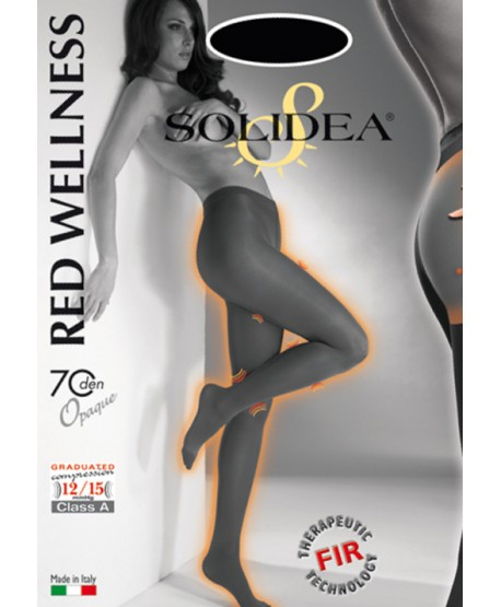 SOLIDEA CLASSIC RED WELLNESS 70 OPAQUE Collant 12/15