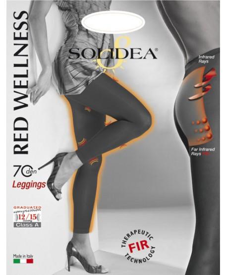 SOLIDEA RED WELLNESS LEGGINS 70