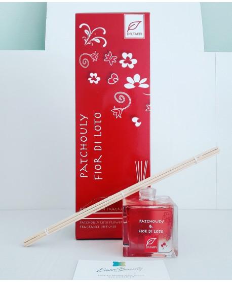 DR.TAFFI Diffusore di fragranza Patchouly & Fior di Loto 80ml