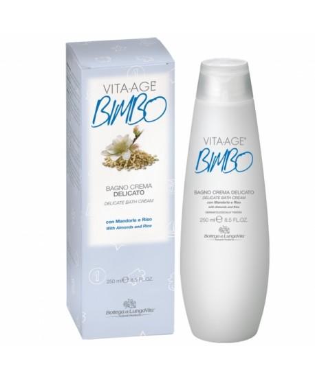 Bagno Crema Delicato Vita Age Bimbo Bottega di Lunga Vita 250ml
